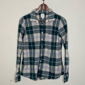J.Crew | Perfect Fit Plaid Button Down Shirt